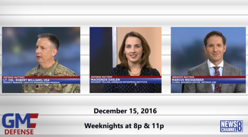 Government Matters December 15, 2016