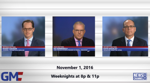 Government Matters November 1, 2016