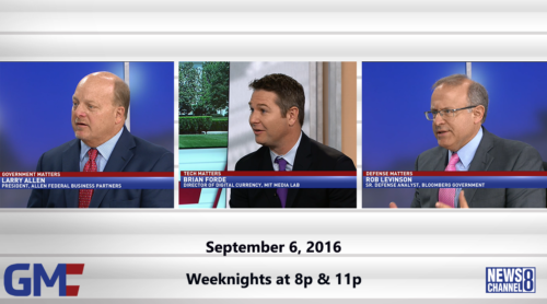 Government Matters September 6, 2016