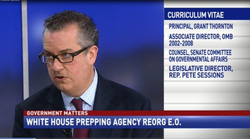 Government Matters White House Prepping Agency Reorg E.O.