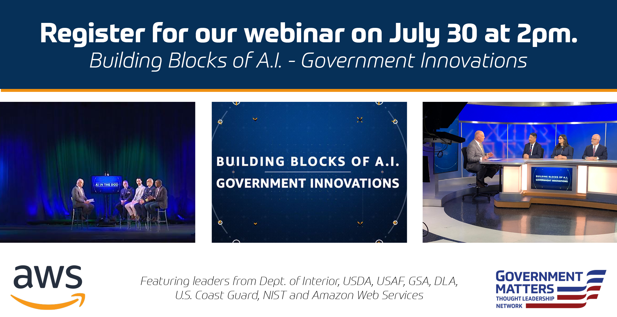 Free Webinar: Building Blocks of AI – Government Innovations